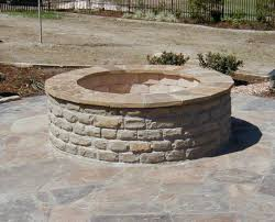 Firepit Bricks Backyard Pit Bricks In Square Shapes Stunning How To Build