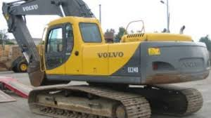 volvo ew70 compact excavator service parts catalogue manual