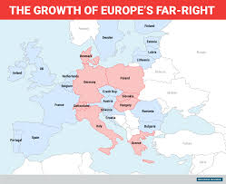 Show Me A Map Of Germany by Map Shows Far Right Growth Across Europe Business Insider