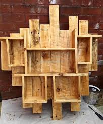 270 best pallet shelves images on pinterest pallet shelves wood