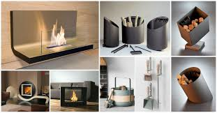 contemporary fireplace accessories that will steal the show