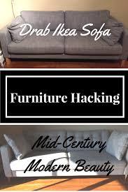 Karlstad Sofa Bed Slipcover Isunda Gray by Turning The Ikea Karlstad Sofa Into A Mid Century Modern Beauty