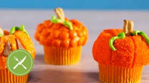 Pumpkin Cupcakes by Pumpkin Cupcakes Creative Cupcaking Youtube