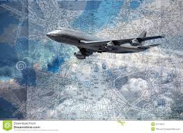 Airline Routes Map by Flight Routes Map Stock Illustration Image 53116841