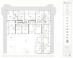 Loft Floor Plans Parkloft Floor Plan 1st Floor