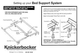 How To Assemble A Bed Frame Heavy Duty Metal Bed Frame Universal Size