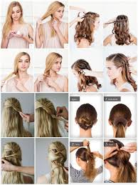 wedding hairstyles step by step instructions easy hairstyle step by step android apps on google play