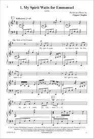 the lorenz corporation one silent cantata choplin satb
