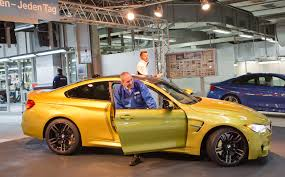 bmw factory assembly line bmw rolls off the assembly line the first m4 coupe bmwcoop