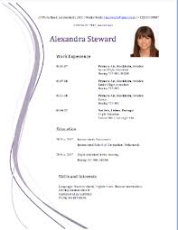 Resume For Flight Attendant Flight Attendant Cv Or How To Land Your First Job Cabin Crew World
