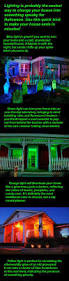 Halloween House Light Show by Spooky Lighting In Minutes Lights Bulbs And Porch