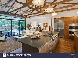 kitchen and dining furniture open floor plan of house with kitchen living room and dining room