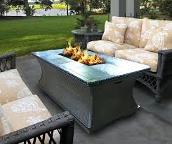 Outdoor Firepit Tables Firepit Tables Beautiful Garden Mosaic Tile Table Patio