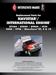 catalogo navistar piston cylinder engine