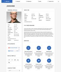 Good Resume Builder Website by 20 Best Wordpress Resume Themes For Your Personal Website
