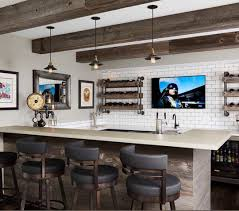 40 snazzy home bar interior design that is bang up to date and diy wine and beer holders with simple stools and design for home bar