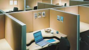 trendy decorating ideas for small office with desk cabinets and