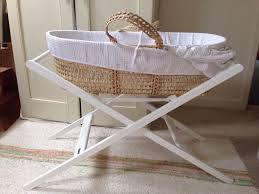 john lewis moses basket stand mattress and sheets in reading
