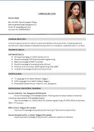 exquisite decoration american resume format nobby design