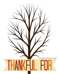 thankful tree free printable thanksgiving thankful tree free