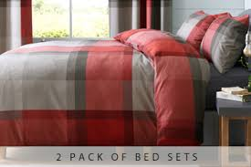 red bedding sets red single u0026 double bedding sets next