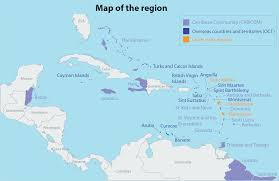 Blank Caribbean Map by Eu Caribbean Relations European Parliamentary Research Service Blog