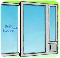 Patio Door Draft Patio Door Draft Stopper Sliding Glass Door Draft Stopper Free
