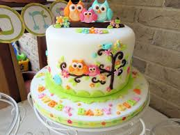 baby shower owl cakes images of baby shower cake table kustura for