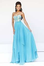 pretty new years dresses pretty sweetheart floor length chiffon blue prom dresses for new