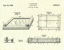 1962 etch a sketch patent tracing device art print wall art