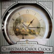 buy nib snow family carol clock plays 12 songs one each
