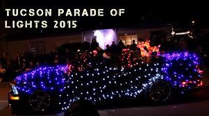 parade of lights tucson tucson parade of lights 2015 youtube