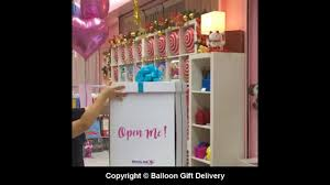 balloon in a box delivery balloon box