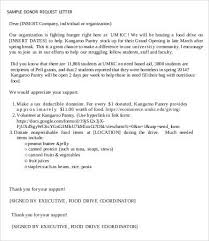 sample donation request letter 7 free pdf word documents