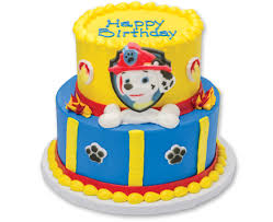 Paw Patrol Cake Decorating Supplies Cakes
