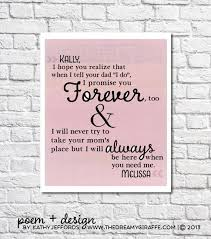 wedding gift poems stepdaughter gift personalized letter to stepdaughter wedding