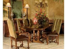 Oval Dining Room Table Oval Tuscany Dining Room Furniture Ideas Dining Tables Tuscan