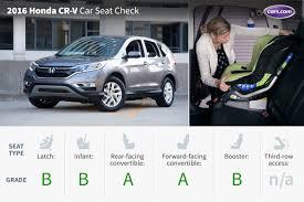 How Much Does A Honda Crv Cost 2016 Honda Cr V Car Seat Check News Cars Com