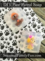 diy paw patrol soap pawpatrol diysoap kids crafts and