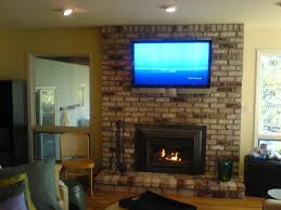 fireplace brick wallpaper fireplace design and ideas