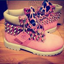 womens pink timberland boots sale black timberland boots with gold chains are the best shoes to pair
