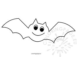 Halloween Coloring Books Bats Moon Coloring Page Simple Bat Halloween Coloring Pages