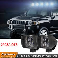 New Hummer H4 Compare Prices On Led Headlight Accents Online Shopping Buy Low