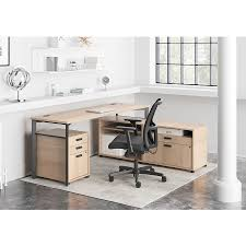 72 inch desk with drawers marlin modern 72 in wheat desk eurway furniture