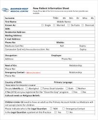 Patient Information Sheet Template 49 Information Sheet Exles