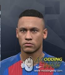 namar jr hairc pes 2017 neymar jr hairstyle pro evolution soccer 2017