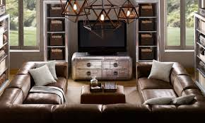 Leather Sectional Living Room Furniture Living Room Ideas With Brown Leather Sectional Gopelling Net