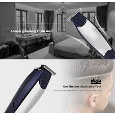 kemei km 5021 3 in 1 hair clipper rechargeable trimmer eu plug