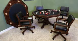 game table and chairs set the cl bailey company 54 game table set intended for pool table