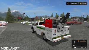 minecraft pickup truck 2016 chevy silverado 3500hd service truck mod farming simulator 17